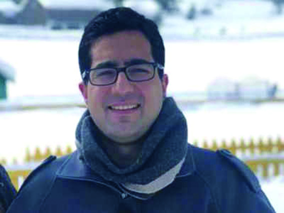 Give me ideas: Shah Faesal to Kashmir youth