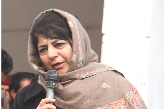 Mehbooba bats for talks with militant leadership in Kashmir