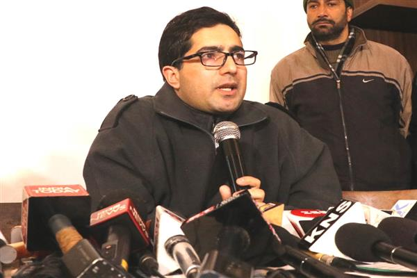 Shah Faesal launches Jammu and Kashmir Peoples Movement