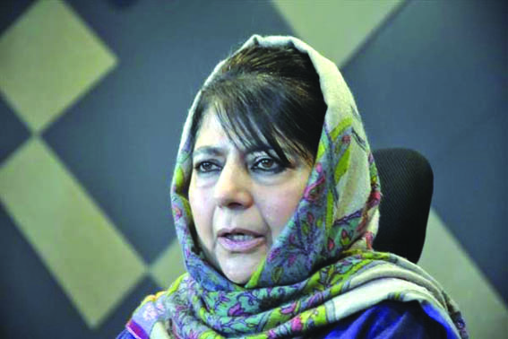 Crucial institutions being helmed by people with political patronage: Mehbooba