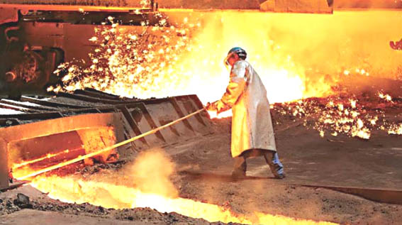 Crude steel output in India at 9.18 million tonne in January
