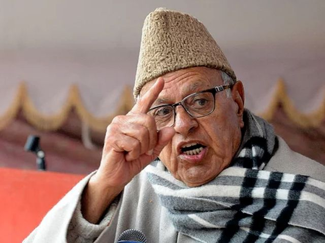 BJP polarizing country to hide its failures: Farooq