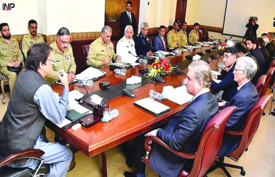 Imran Khan holds NSC meeting amidst heightened Indo-Pak tension