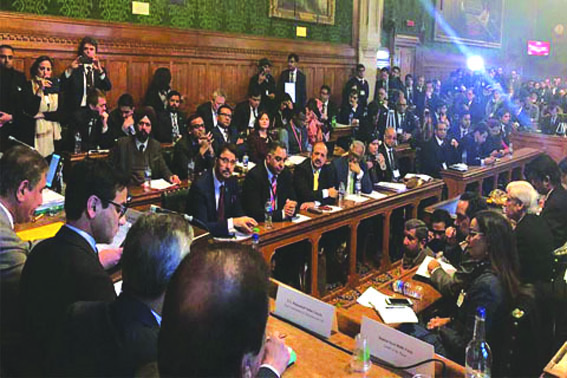 Kashmir Solidarity Day Int'l Conference held in UK parliament adopts resolution