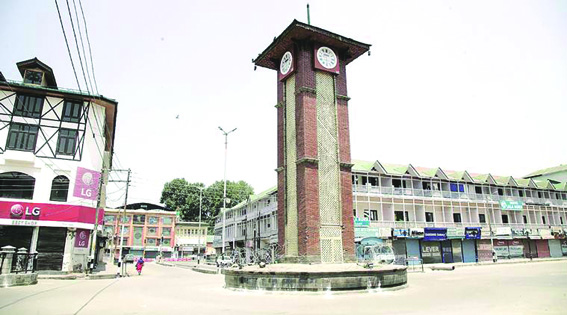 Day 7: Streets, Markets Deserted As Strict Restrictions Continue In Kashmir