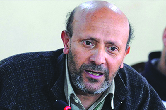 New Delhi aiming for trifurcation of J&K: Er Rasheed
