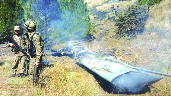 Pak says 2 Indian warplanes downed, 1 pilot captured