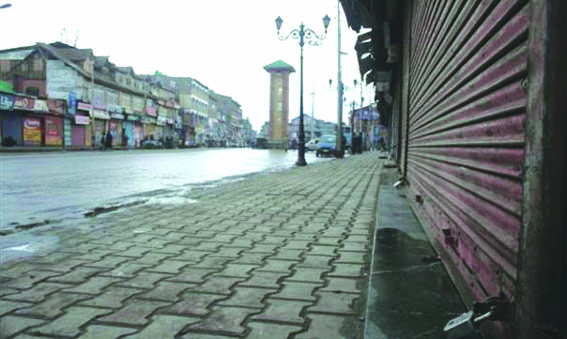 Strike cripples life in Kashmir