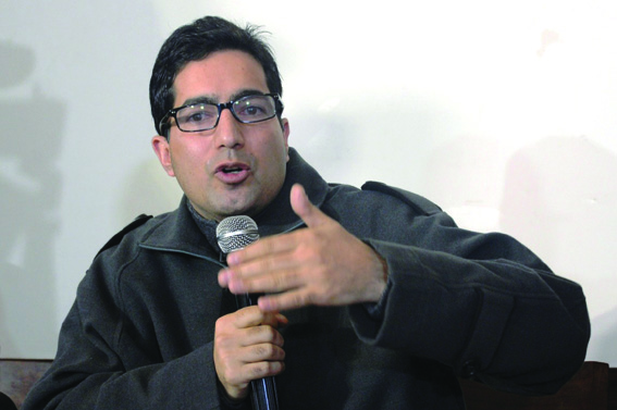 Will fight for dignity of Kashmiris: Shah Faesal in Kupwara