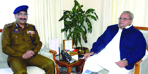 DGP briefs Governor about security situation