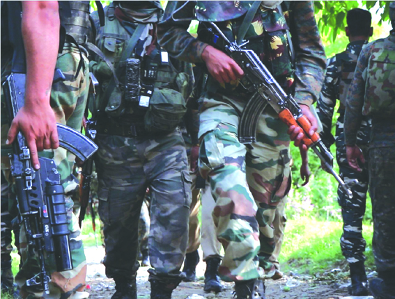 Tral gunfight: 2 militants killed, civilian wounded