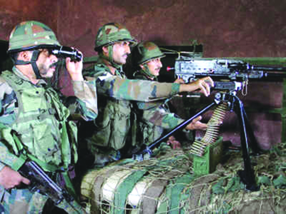 Guns roar again on LoC in Rajouri, Poonch