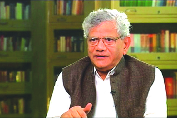 If LS polls can be held in JK, why not assembly polls: Yechury to GoI