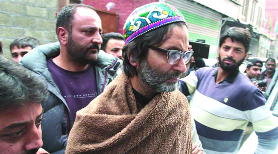 JKLF chief booked under PSA, shifted to Jammu jail