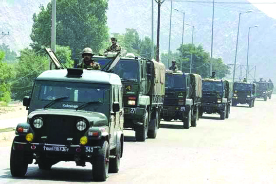 Convoy movement: No civilian traffic on Kashmir highway for two days every week