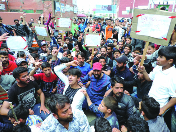 Protests erupt in Valley against rape of minor