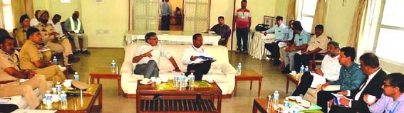 Union Addl Secy Home, Chairman NHAI review progress of highway 4-laning projects