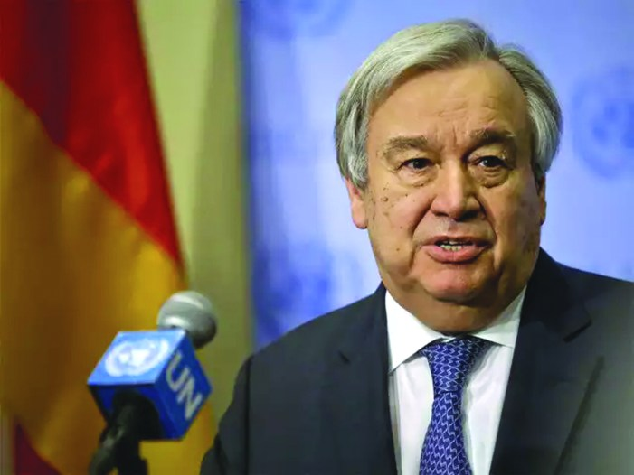 All members should abide by UN decision on Azhar: UN chief