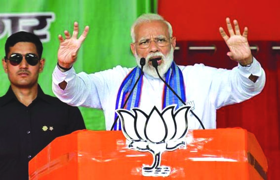 Congress wants to give full freedom to stone pelters, those who support terrorism: PM Modi