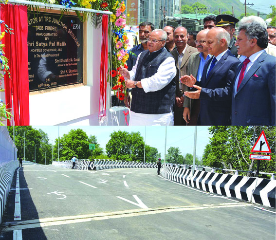 Governor inaugurates Grade Separator at TRC Junction