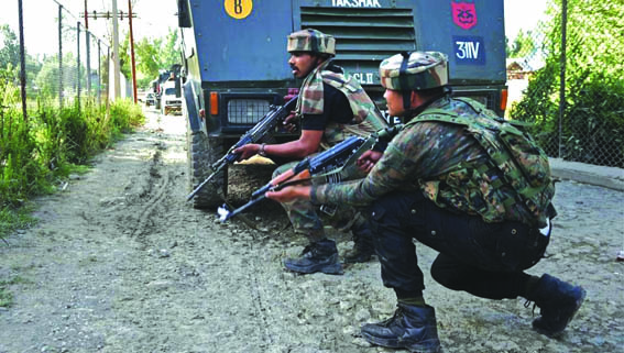 Two LeT militants killed in Sopore gunfight