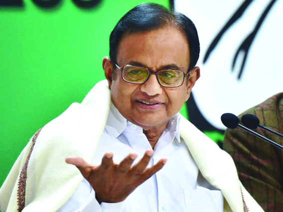Why Imran wants Modi to continue as India's PM, asks Chidambaram