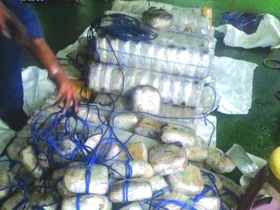 532 kg heroin smuggled from Pak through trade route seized at Attari