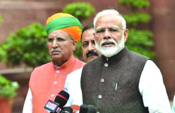 Active oppn important in parliamentary democracy: Modi