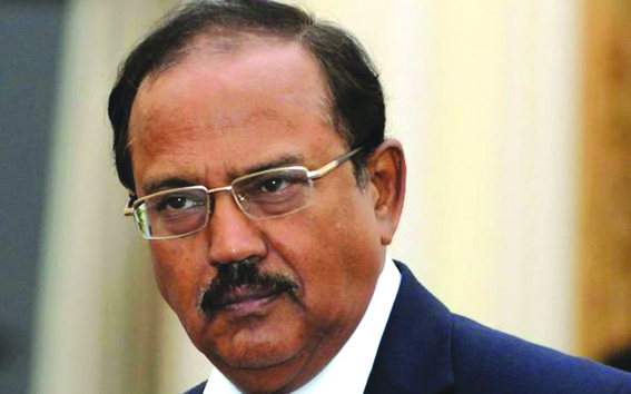 Ajit Doval chairs meeting on Kashmir