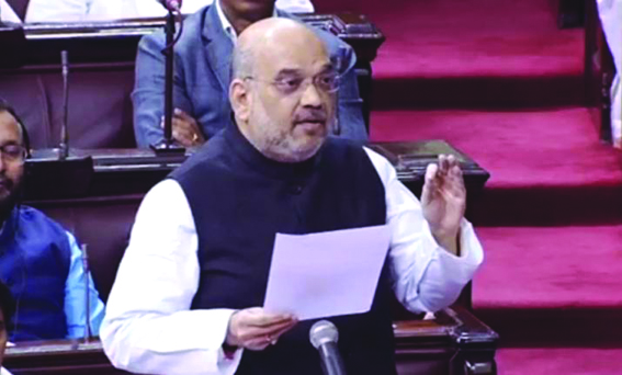 Centre committed to restore democracy, eliminate militancy in JK: Amit Shah