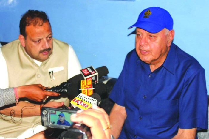 Dialogue only way forward for peace: Dr Farooq