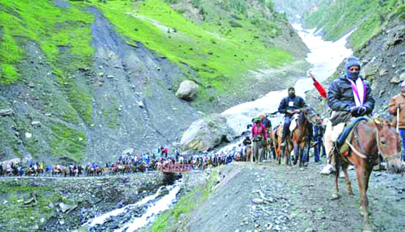 Amarnath Yatra to commence on July 21 end on August 3