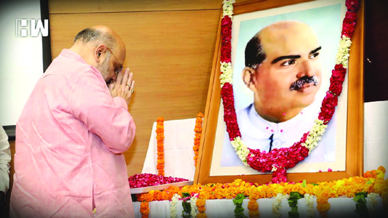 People travel to JK without permit due to Mookerjee's sacrifice: Amit Shah