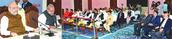 Union Home Minister interacts with Sarpanches