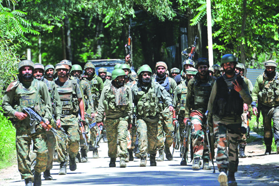 Security Forces Open Fire As Vehicle Jumps Checkpost In Pulwama