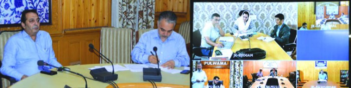 Remove all bottlenecks in Semi-Ring Road project: Div Com to DDCs