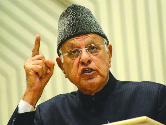 Dr Farooq calls for joint efforts to combat COVID-19 threat in J&K