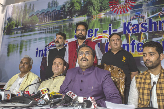 Modi Govt will take necessary steps for benefit of JK: Ram Madhav on Art 35A