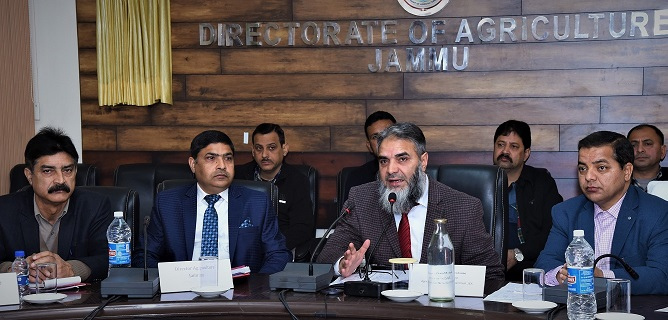 Secretary Agriculture Production reviews implementation of KCC Scheme