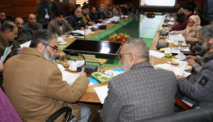 Secy APD reviews functioning of Agri Dept