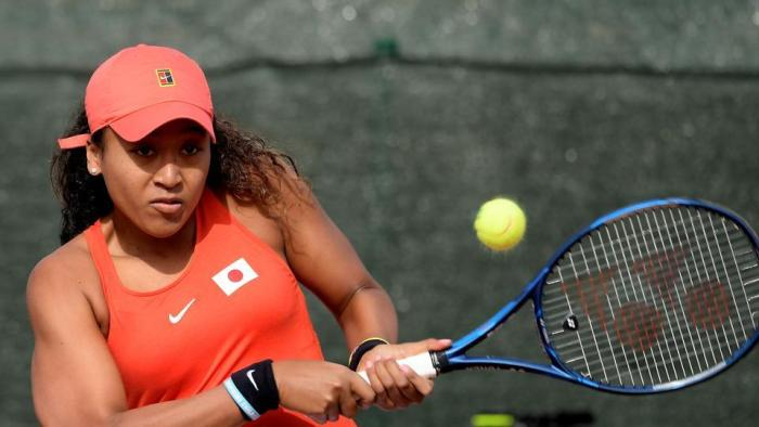 Emotional Naomi Osaka endures surprise Fed Cup loss to Sorribes