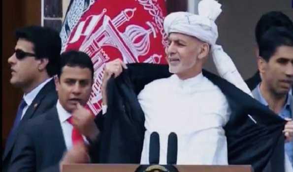 Blasts rock Kabul as rival candidates take oath