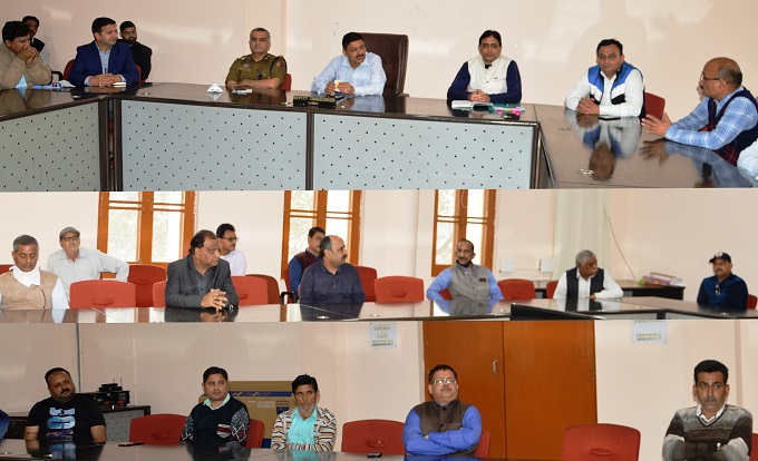 COVID-19: DC Samba holds meeting with market associations, clergy and civil society members