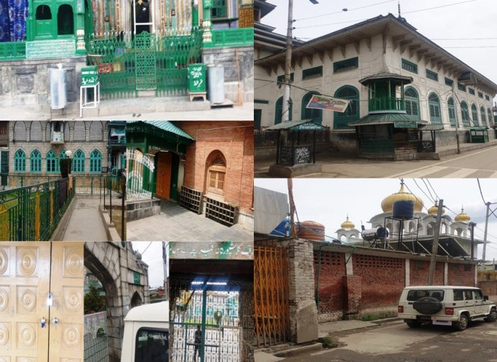 All religious places closed in Srinagar