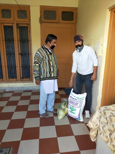 We The Human distributes ration, essential items among distressed