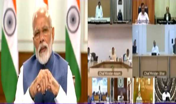 PM interacts with CMs on COVID-19 situation