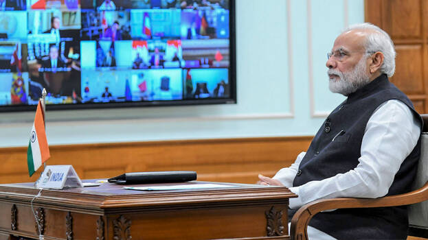 9 CMs likely to speak at today's video-conference with PM