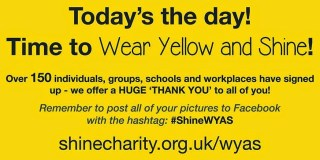 wear yellow and shine