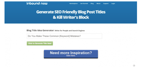 blog content ideas with inbound now