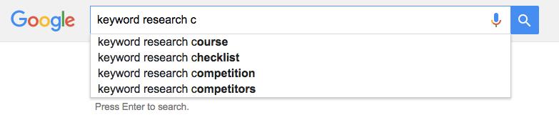 "keyword research + ""c"""